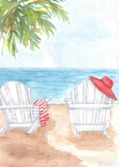 A 2019-1 Beach Chairs by Isabel Elise Stamper_image